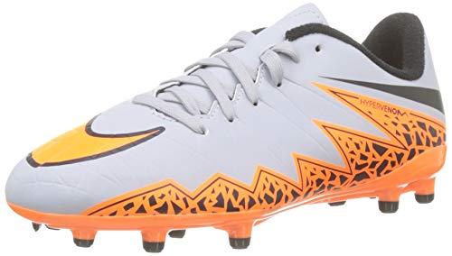 Nike Scarpa da Calcio Grigio/Arancione EU 35.5 (US 3.5Y)