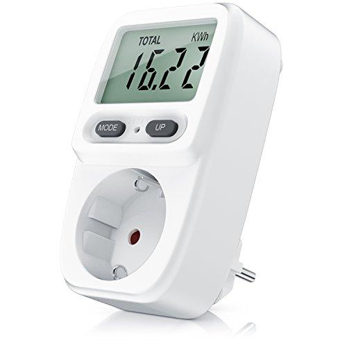 Bearware - Misuratore del costo energetico - Misuratore costi energetici - Misuratore del consumo in standby da 0,2 W