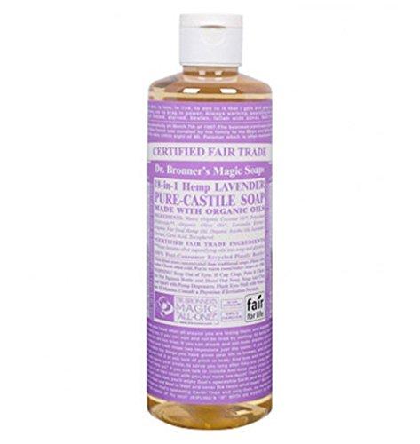 Dr. Bronner's: Lavendel Liquid Soap - Flüssigseife 475 ml