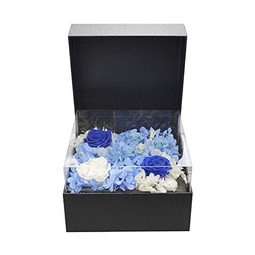 Flores hechas a mano y RosesFemale flor de regalo Regalo de madre for la novia de regalo de rosas en escabeche hecho a mano que nunca muere polen insípido Rose no tóxico regalo flor femenina ZGHE