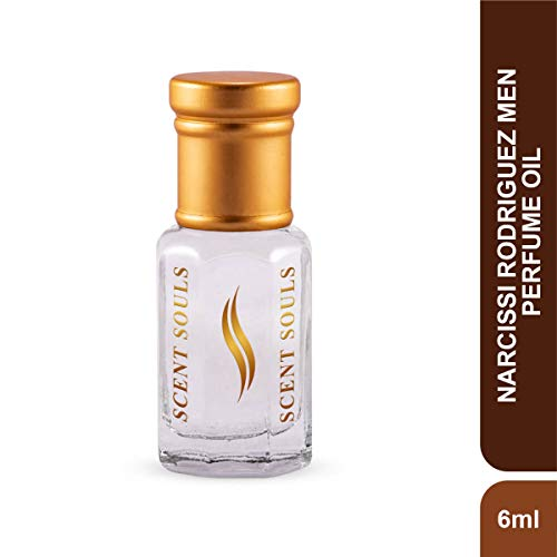 Scent Souls Narcissi Rodriguez Men Long Lasting Attar Fragrance Perfume Oil For Men- 6 ml
