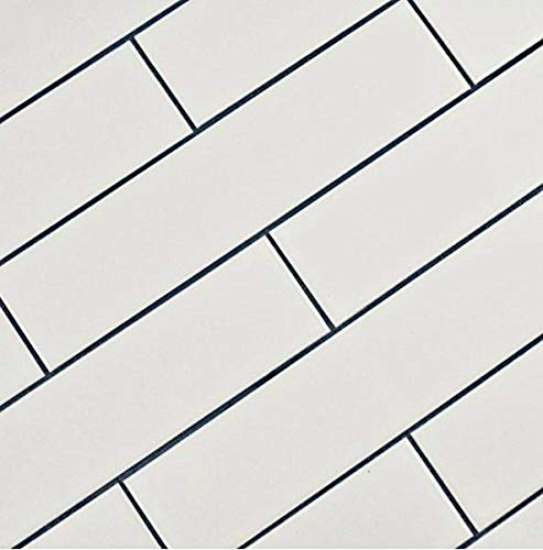 White Subway Tile Gloss Finish 2' X 8' ( 60 pieces- Box of 6.7 Sqft),...