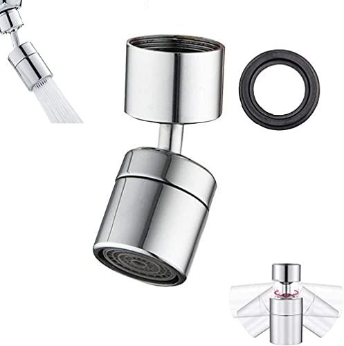 Faucet de inflación Función Doble Función Girar 360 Grados Universal Head Extensión universal Anti-Splashing Hilo interno de 24 mm