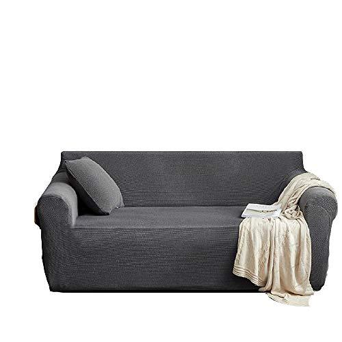 Funda de sofá elástica Universal con Todo Incluido, Fundas de sofá con Estampado Jacquard Grueso, Protector de sofá, Funda de sofá en Forma de L de Esquina para Sala,1,1 Seat 90-140cm