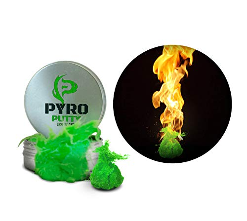 Phone Skope PYRO Putty Winter, Summer, Eco Blend, Emergency Survival Fire Starter (2 oz Green Eco Blend Fully Renewable Resources)