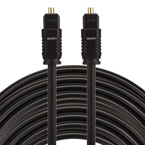 LISUONG JYJY AYSMG EMK 15m OD4.0mm Toslink Macho a Macho Cable de...