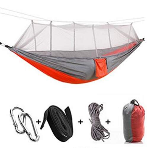 Ultralight Outdoor Camping Jacht Klamboe Parachute Hangmat 2 Persoons Tuin Hamak Hangbed Vrije tijd, C