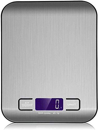 YesVCTR Mini-Präzisionswaage, Edelstahl, digitale Küchenwaage, 10 kg/5 kg, elektronische Präzisionswaage für Lebensmittel zum Kochen, Messung von 5 kg (Farbe: 10 kg)