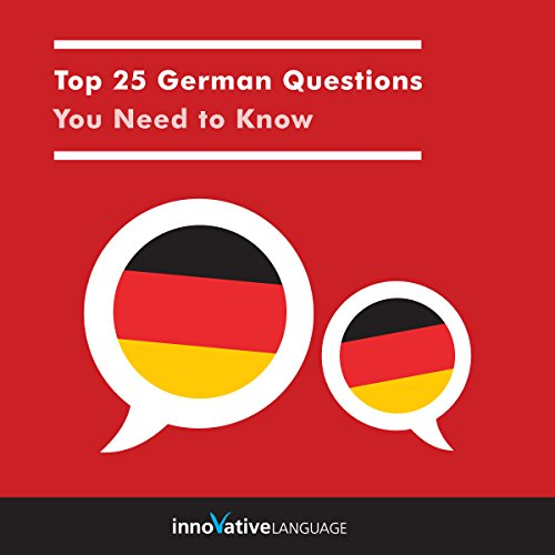 Top 25 German Questions You Need to Know audiobook cover art