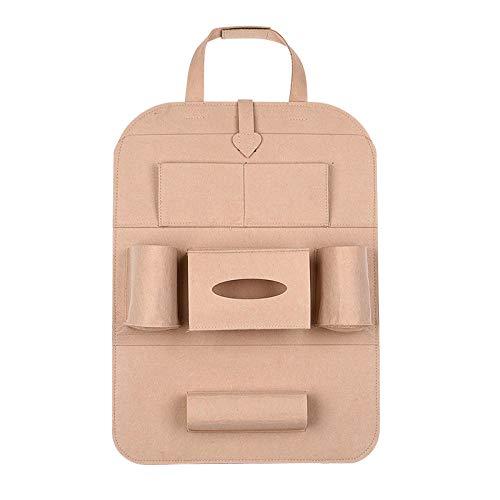 Sac de rangement pour siège de voiture personnalité multifonctionnelle créative dossier de rangement créatif pour dossier créatif sac de rangement sac suspendu anti-kick pad