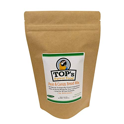 TOP's Premium Birdie Bread Mix Peas and Carrot 1.35lbs