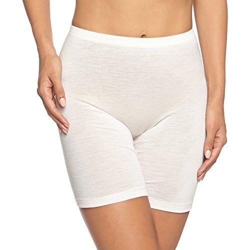 HANRO Damen Shortleg Pants Woolen Silk (0795 cygne), Gr. S