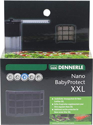 Dennerle Nano Baby Protect XXL - Baby-Garnelen Schutzgitter für Nano Eckfilter XXL