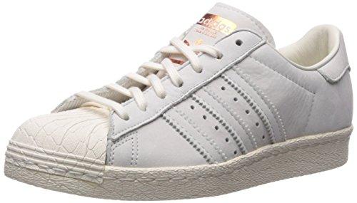 adidas Originals Women's Superstar 80s W Running Shoe, CWHITE,COPPMT, 9 Medium US
