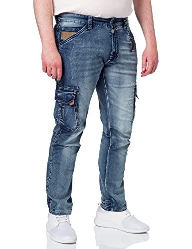 Timezone Regular RogerTZ Jeans, Antique Blue Wash, 33W / 32L Uomo