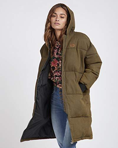 BILLABONG™ Under Spell Long Oversize Hooded Jacket - Jacket - Women - M - Grün