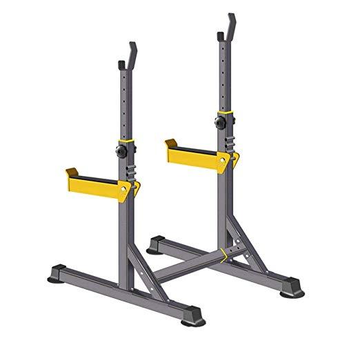 RUIXFHA Langhantel-Rack, Multifunktions-Langhantel-Rack-Ständer Verstellbarer Hantel-Squat-Rack-Ständer Gewicht Bank Home Gym