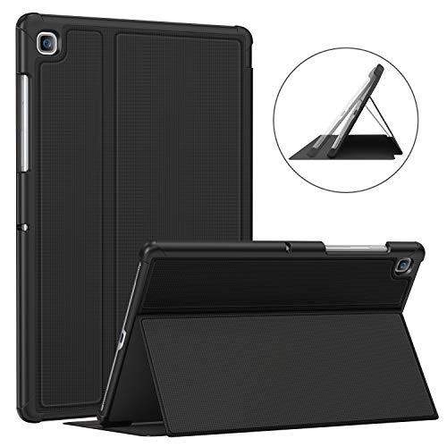 Soke Hülle für Samsung Galaxy Tab S5e 10.5 (SM-T720/T725), Premium TPU Folio stoßfeste hülle, Auto Schlaf/Aufwach für Samsung Tab S5e 10,5 Zoll 2019 Tablet, Schwarz