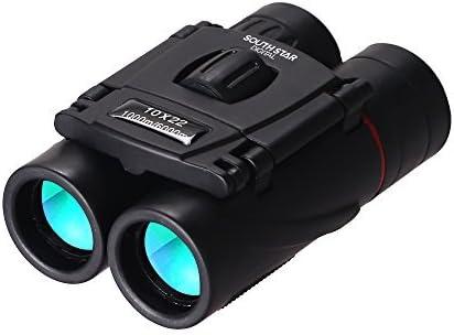Binocular 10X22 Folding Albuquerque Mall Pocket Binoculars Lens Compac Film Green Super beauty product restock quality top