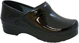 Women's Professional Patent Clog
