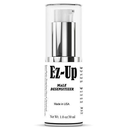 EZ-UP Desensitizing Lube for Men, Delay Spray for Men Lube for Men Pleasure Help You Last Longer in Bed - Maximized Sensation + Prolonged Climax for Him