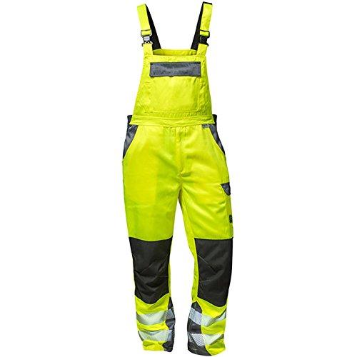 Elysee 22738-60 Warnschutz Latzhose Colmar Größe 60 in gelb/grau