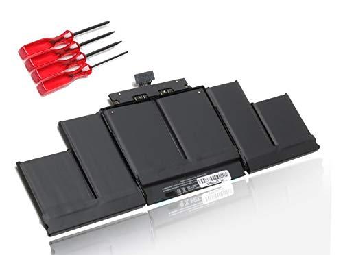 """ANTIEE 95 Wh A1494 - Batteria per laptop MacBook Pro da 15"""" e 15.4"""" Retina A1398 (fine 2013 - metà 2014) 2674, 2745, 2876, 2881, ME293, ME294, ME293LL/AM, ME294LL/A, ME294B/A, ME874LL/A, MGXA2LL/A."""