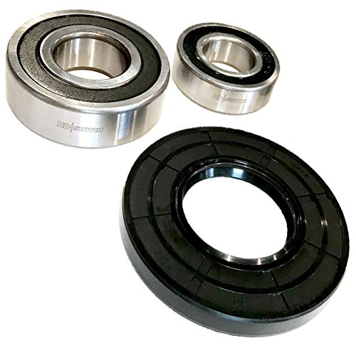 HD Switch Bearing & Seal Kit Replaces Kenmore Elite HE3T HE4T & HE5T Whirlpool Duet, with C3 Clearance Bearings & High Temperature Grease