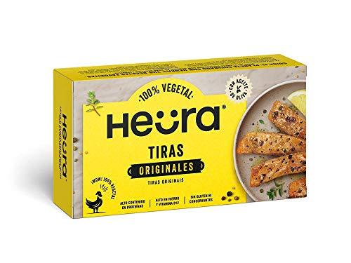 Tiras Originales HEURA 180g | 100% Vegetales | Sin Gluten (Pack de 2)