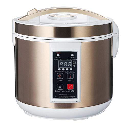 Macchina Per Aglio Nero 6L Automatico Fermentatore Per Aglio Nero Pentola Per Uso Domestico Natto Yogurt Maker 220V Macchina Per Fermentazione Con Aglio Nero