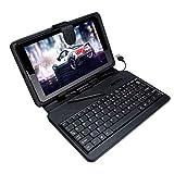 I Kall N2 with Keyboard (7 Inch, 3G+WiFi+Dual Sim Calling) (Black)