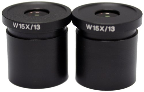 National Optical 615-400 WF15x Eyepiece, For 400, 405, 409, 415, 420/420T, 430, 446, 450, 456 and 460 Microscopes (Pack of 2)