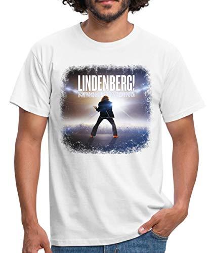 Lindenberg! Mach Dein Ding! Filmplakat Männer T-Shirt, M, Weiß
