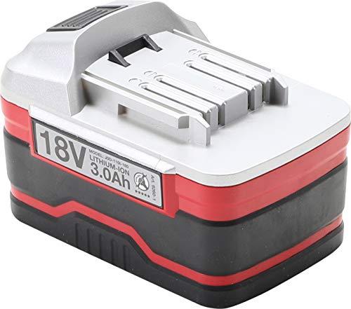 BGS Diy 9260-1 | Accu de rechange | Li-Ion | 18 V DC/3,0 Ah | pour clé à choc sur accu art. 9260