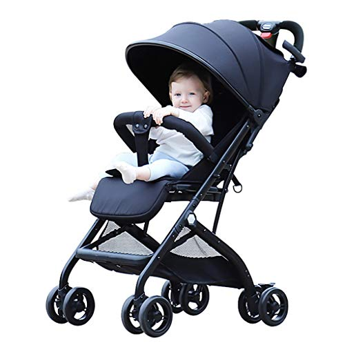 Find Bargain KHUY Baby Strollers for Girls,Multifunctional Baby Stroller can be Seated, reclined and...