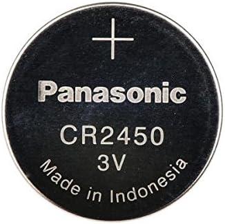 CR2450 Panasonic 3 Arlington Mall Volt Coin Very popular Battery Cell Lithium