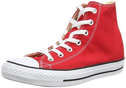 Converse Ctas Core Hi Sneaker, Unisex Adulto, Rosso (Red), 35