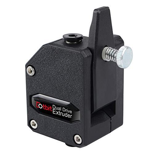 UKCOCO Extrudeuse 1.75mm Dual Drive Extruder Bowden Accessoires d'imprimante 3D pour imprimante 3D (Noir)