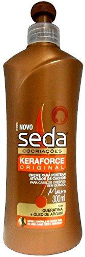 SEDA Cocriacoes Novo Keraforce Original Creme Para Pentear Detangler Curls Activator 300ml