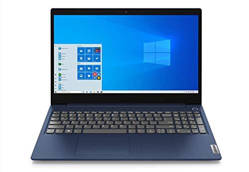 Lenovo IdeaPad 3 Notebook, Display 15.6' Full HD IPS, Processore Intel Core i5-10210U, 512 GB SSD, RAM 8 GB, Scheda Grafica MX 350, Fingerprint, Windows 10, Abyss Blue