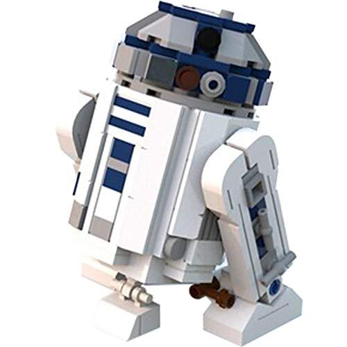 Wars Space the R2-D2 Star Movie Robot Modelo Bloques Mini Ladrillos Juguetes Compatible Lepinblocks 10225 C3937248PCS