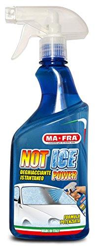 Mafra, Not Ice Power, Dégivreur Liquide Effet Immédiat, Facile et Rapide à utiliser, Convient à tout Type de Verre ou de Cristal de la Voiture, Format 500ml