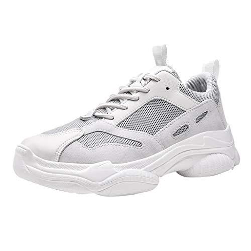 HEETEY Mode Herren Mesh atmungsaktiv tragbare Outdoor leichte Sportschuhe Mesh atmungsaktiv und verschleißfest Leichte Outdoor-Sneakers Outdoor Leichtgewichts Laufschuhe Freizeit Atmungsaktive Schuhe
