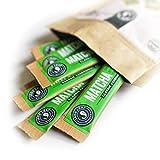 Jade Leaf Matcha Green Tea Powder - Organic Ceremonial Single Serve Stick Packs (10 count)