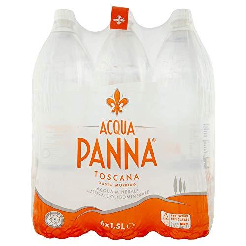 Acqua panna acqua minerale naturale lt. 1.5 confezione da 6 bottiglie (1000027873)