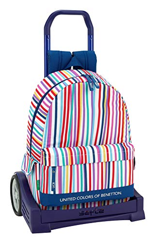 Ucb benetton Mochila con Carro Ruedas Evolution, Trolley