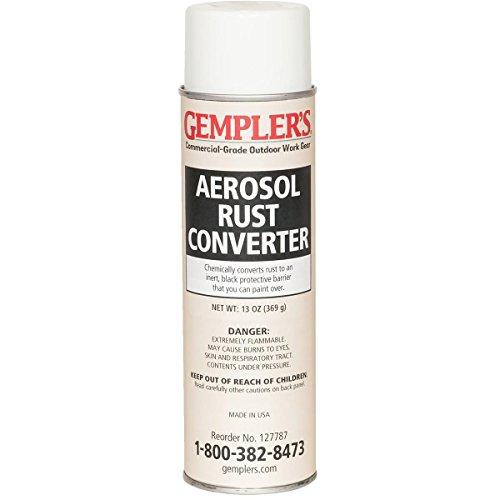 GEMPLER'S Fast Rust Converter and Primer 2-in-1 Spray-on Aerosol 13 Oz