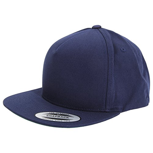 Yupoong Flexfit - Casquette Classique - Adulte Unisexe (Taille Unique) (Bleu Marine)