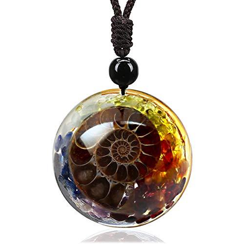 7 Chakra Natural Healing Crystal Ne…