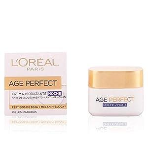 L'Oreal Paris Age Perfect, Crema Hidratante de Noche, Pieles Maduras - 50 ml
